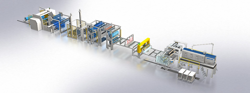 "BREYER extrusion line ""OptiFlex"""