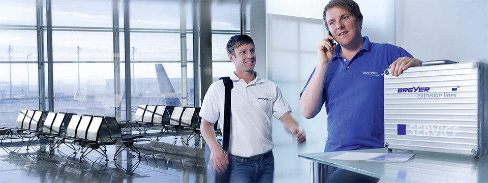 BREYER Services - worldwide a true partner.