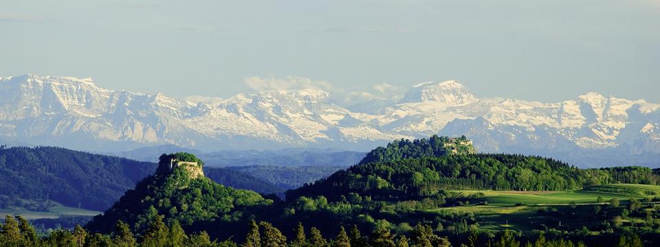 """The """"Hegau"""" - landscape around Singen"""